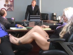 Brazzers - Big Tits at Work - Holly Heart Ramon - The Meeting