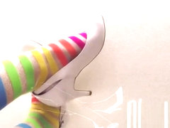 #54 rainbow socks