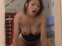 Japanese teacher Riko Kobayakawa fucks hard