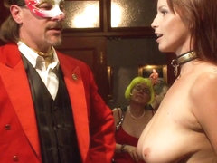 Masquerade Orgy with Nine Slaves 100 Horny Guests Part One