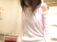 Incredible Japanese slut gets dicked during medical exam