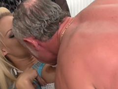 Hottest pornstars Louise Davis and Paige Ashley in horny blonde, group sex sex movie