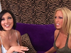 Horny pornstars Mindy Main and Cassie Young in crazy brazilian, big tits porn scene