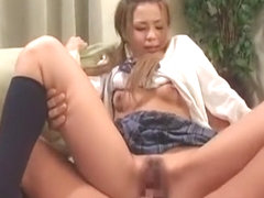 Exotic Japanese girl Mai Nadasaka, Takako Kitahara, Misa Shinozaki in Hottest Hairy, Cunnilingus J.
