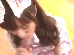 Crazy Japanese chick Rina Rukawa in Best JAV clip
