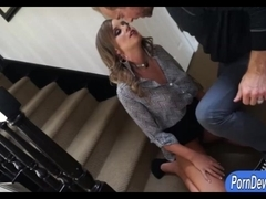 Two sexy shemales anal fucked by dude