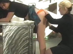 Hot And Heavy Bdsm Scenery With Young Blindfolded Hottie