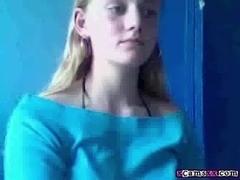 Dutch Blonde Having Fun On Her Webcam