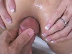 Amazing POV anal fuck and a creampie