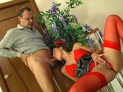 HornyOldGents Movie: Jaclyn and Hubert