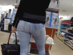 Sexy European Tall Blonde with Great Booty