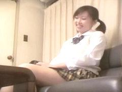 Sweet Jap teen gets creamed well in spy cam hardcore video