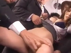 Best Japanese chick Kokomi Sakura in Crazy Public, Secretary JAV scene