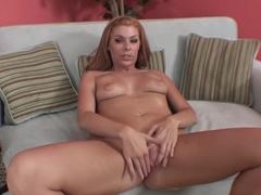 Horny pornstar Chantell Merino in best masturbation, big tits xxx clip