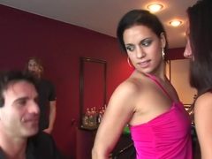 Exotic pornstar in fabulous group sex, latina xxx video