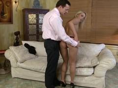 Exotic pornstar Kitty Cat in hottest blonde, facial xxx movie