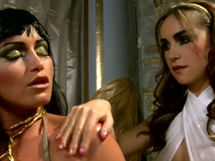 The mighty Cleopatra with Kathia Nobili,  Leyla Black
