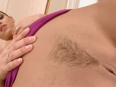 Great pleasure for Eve Angel's tight pussy