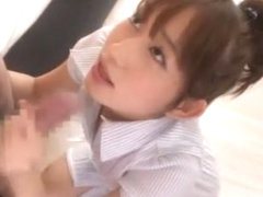 Exotic Japanese model Mika Osawa in Horny Swallow/Gokkun, Girlfriend JAV video