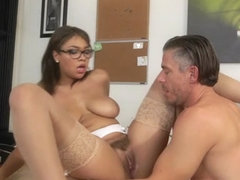 Cassidy Banks & Mick Blue in Bad Secretary - CumFiesta