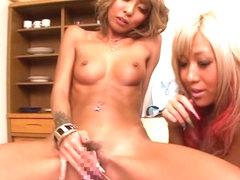 Amazing Japanese girls Mana Izumi, Mary Hayakawa, Rio Sakura in Crazy JAV censored Fingering, Hair.