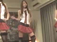 Exotic Japanese chick Hana Yoshida, Rui Saotome, Eri Ouka in Best Fingering, Stockings/Pansuto JAV.