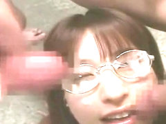 Exotic Japanese girl An Nanba in Fabulous Swallow, Cumshots JAV scene