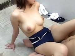 Crazy Japanese whore in Amazing JAV uncensored Cumshots movie