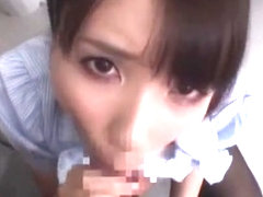 Hottest Japanese slut Rui Saotome in Incredible POV, Blowjob JAV scene