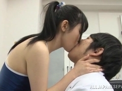 Rin Suzune amazing Asian teen in swimsuit fucked by her doctor