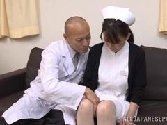 Eriko Miura wild Asian nurse is insatiable
