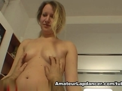 Lapdance by sexy czech wannabe
