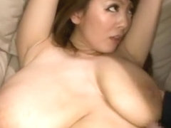 Big titls Japanese woman is having sex with one coligue and fucked in different style
