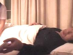 Cute Jap nurse screwed in hardcore Japanese sex video