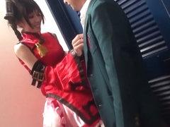 Best Japanese model in Horny JAV censored Swallow, Threesomes video