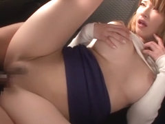 Incredible Japanese whore Tia Bejean in Fabulous JAV censored Swallow, Blonde movie