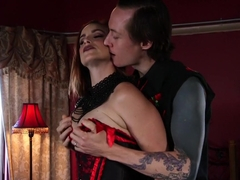 Horny fetish adult movie with amazing pornstars Bella Rossi and Owen Gray from Kinkuniversity
