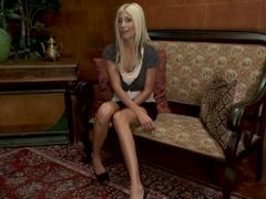 Best fetish, milf porn scene with amazing pornstar Puma Swede from Fuckingmachines