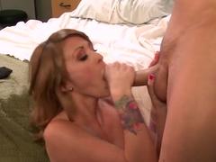 Skinny girl Monique Alexander fucking with Chris Johnson