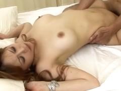Best Japanese chick Moe Aizawa in Crazy JAV uncensored Threesomes video