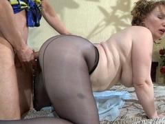 MaturesAndPantyhose Video: Flo and Benjamin