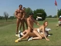 golf course gangbang