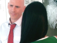 Johnny Sins saves Raven Bay from oral depravity