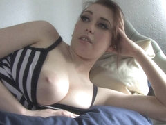 A pair of magnificent jugs exposed in down blouse video