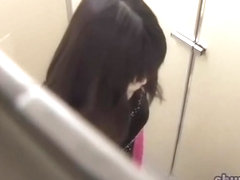 Sperm sharking video with sweet doll getting jizzed while taking a piss