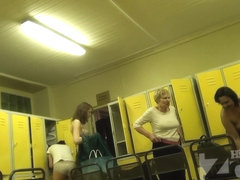 Hidden Zone Locker room webcam 16