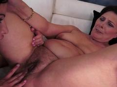 Exotic pornstar Dolly Diore in Crazy Cunnilingus, Lesbian sex scene