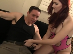 Hottest pornstar Melody Jordan in exotic redhead, squirting xxx video