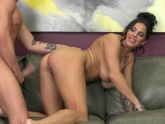 Horny pornstar Lylith Lavey in Amazing Tattoos, Brunette sex clip