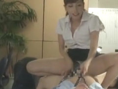 Horny Japanese whore Miyuki Yokoyama in Fabulous Office JAV movie